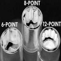 Six-Point Sockets vs. Twelve-Point Sockets