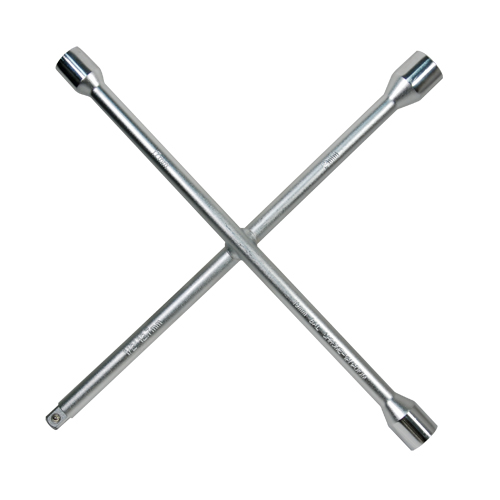 Heavy-Duty Truck Lug Wrench - Cross Spanner-1