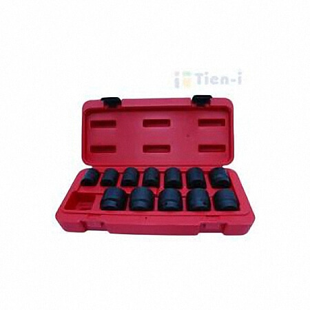 "12PC 1/2""DR. 12 POINT IMPACT SOCKET SET (MM)"