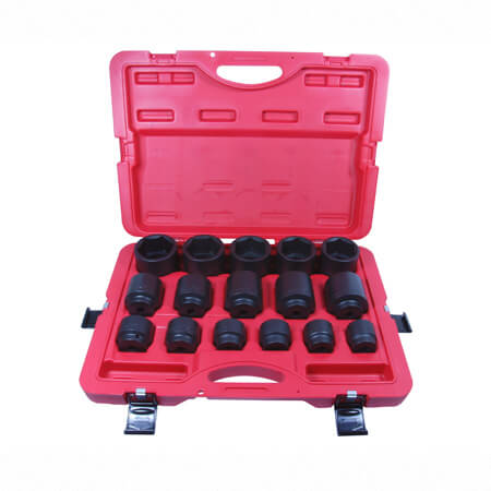 "16PC 1/2""DR. IMPACT SOCKET SET"
