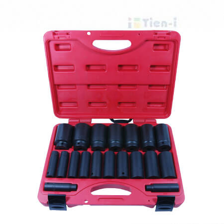 "19PC 1/2""DR. DEEP IMPACT SOCKET SET (SAE) -1"
