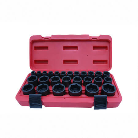 "26PC 1/2""DR. IMPACT SOCKET SET (MM)"