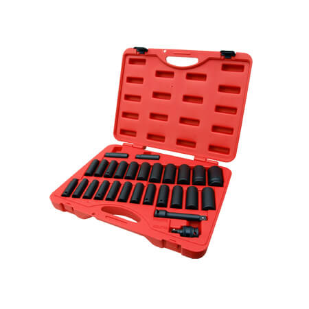 "27PC 1/2""DR. IMPACT SOCKET SET (MM)"