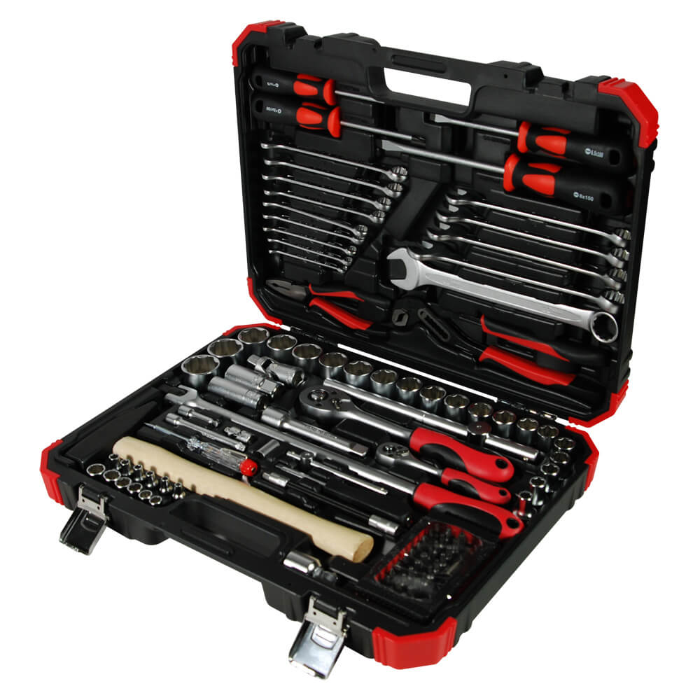 "102PC 1/4""DR. & 1/2""DR. TOOL KIT (MAT FINISHED)-1"
