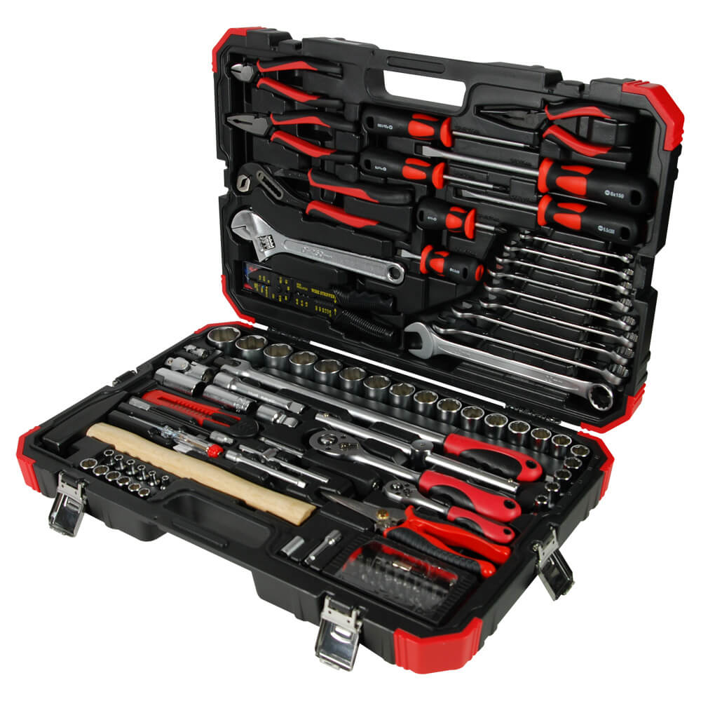"106PC 1/4""DR. & 1/2""DR. TOOL KIT-1"