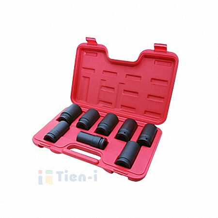 "8PC 3/4""DR. IMPACT SOCKET SET"