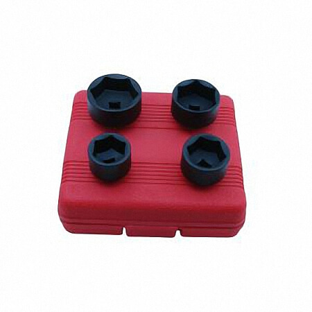 "4PC 3/8"" DR. OIL FILTER SOCKET SET	-1"