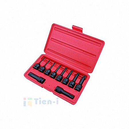 "10PC 1/2""DR. STAR BIT IMPACT SOCKET SET-1"