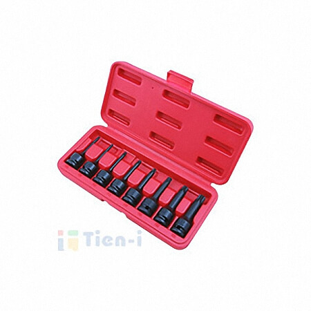 "8PC 1/2""DR. STAR BIT IMPACT SOCKET SET(78L)-1"