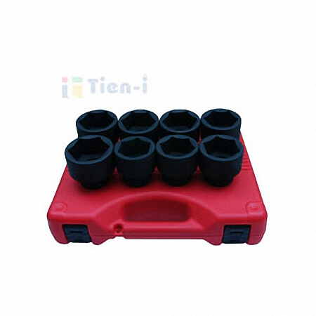 "8PC 3/4""DR. IMPACT SOCKET SET (SAE)-1"