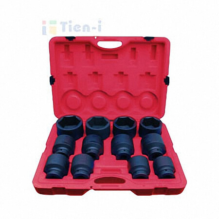 "12PC 1""DR. IMPACT SOCKET SET"