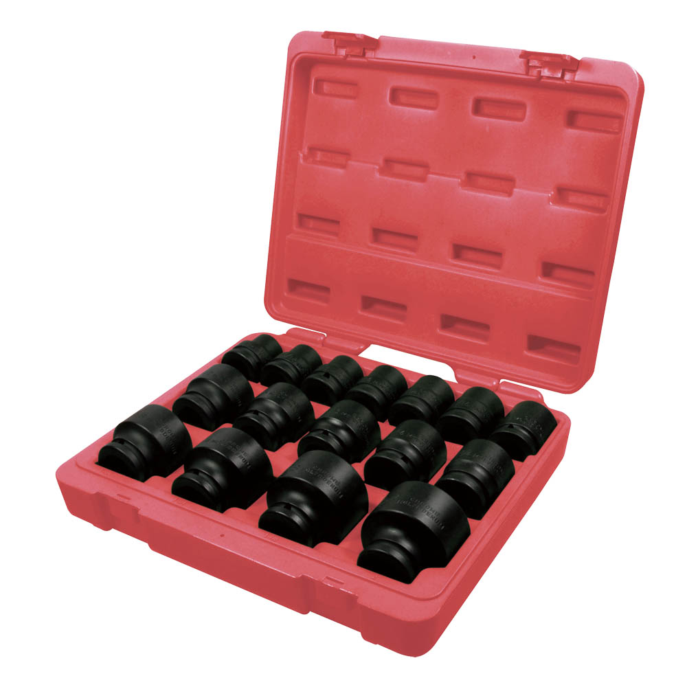 "16PC 3/4""DR. IMPACT SOCKET SET-1"