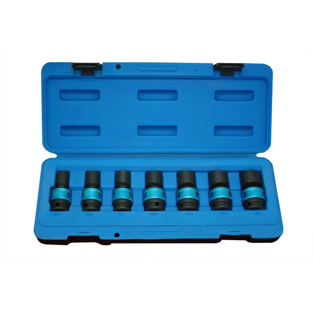 "7PC 1/2""DR. IMPACT UNIVERSAL SOCKET SET (SAE)-1"