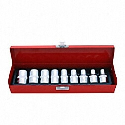 "10PC 1/2""DR. STAR SOCKET SET"