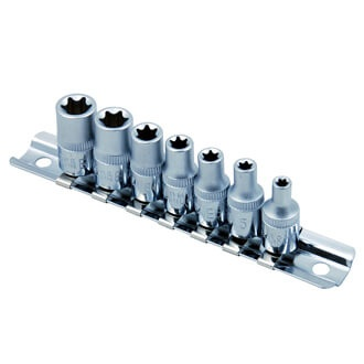 "7PC 1/4""DR. STAR SOCKET SET"