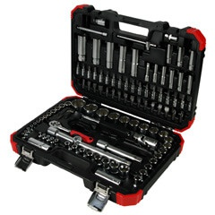 "108PC 1/4"" & 1/2""DR. SOCKET SET (MM)"