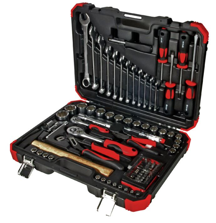 "88PC 1/4"" & 1/2""DR. TOOL KIT (MM)"