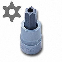 STAR TAMPERPROOF BIT SOCKET