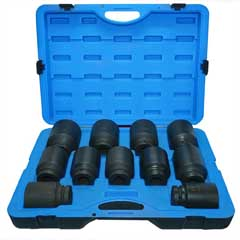 "11PC 1""DR. IMPACT SOCKET SET"
